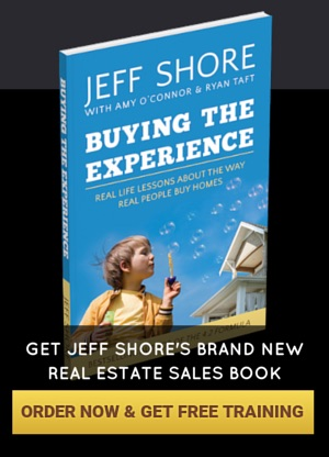 Jeff Shore Buying the Experience Real Estate Sales Training Book