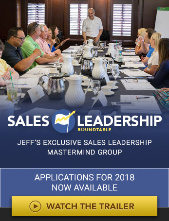 Jeff Shore Sales Leadership Roundtable