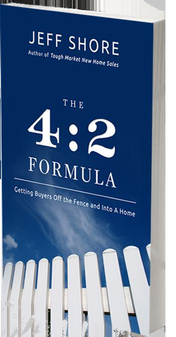 Jeff Shore The 4 2 Formula Paperback Real Estate Sales Book