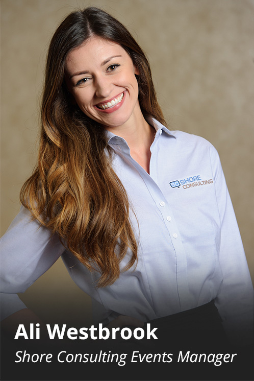 Ali Westbrook, Shore Consulting Events Manager