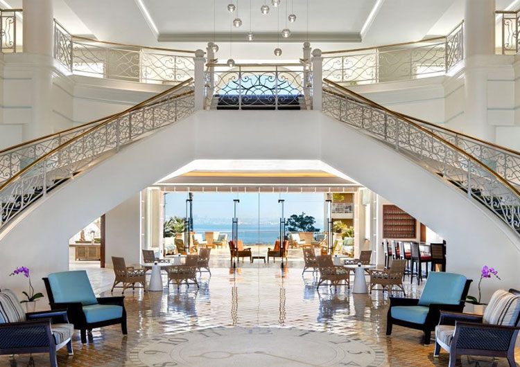 Lobby at Loews Coronado Resort