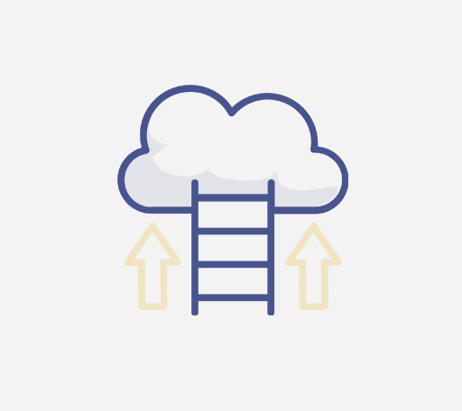 Ladder to a cloud