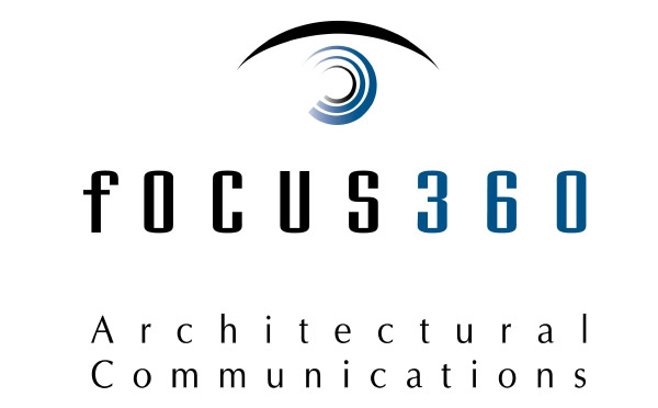 Focus 360. Architectural Communications logo