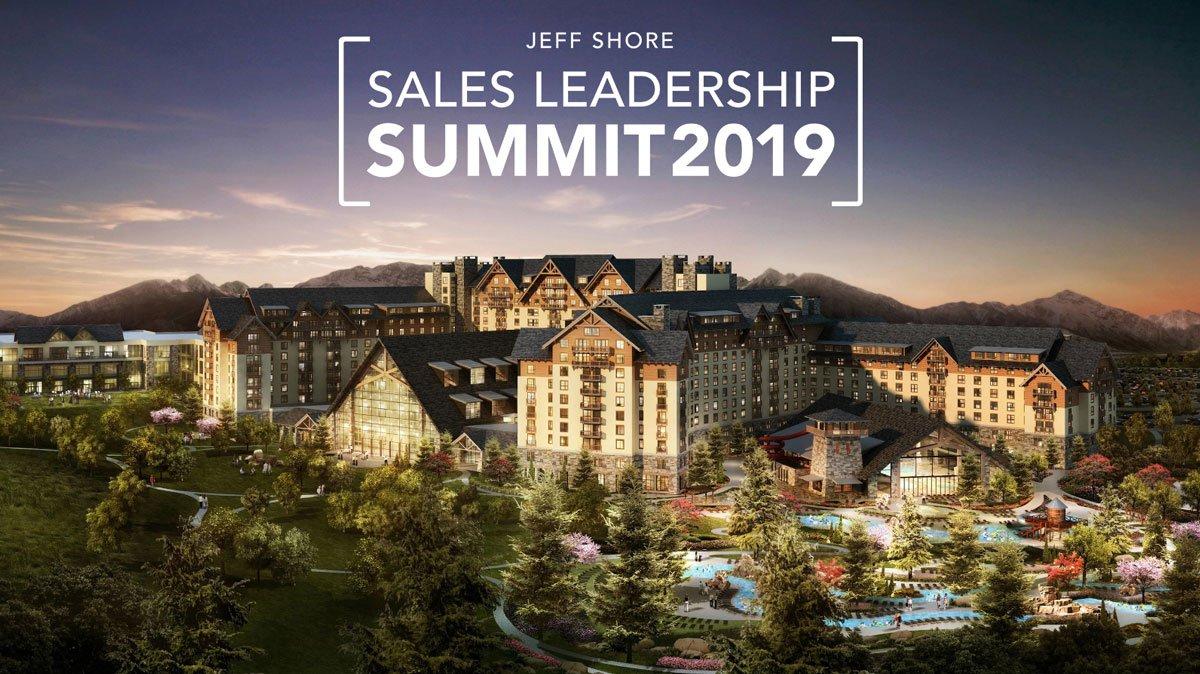 Summit 2019 | The Jeff Shore Sales Leadership Summit Jeff Shore